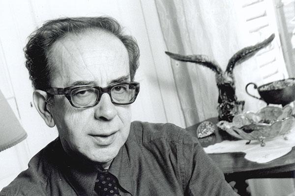 Albanian author Ismail Kadare