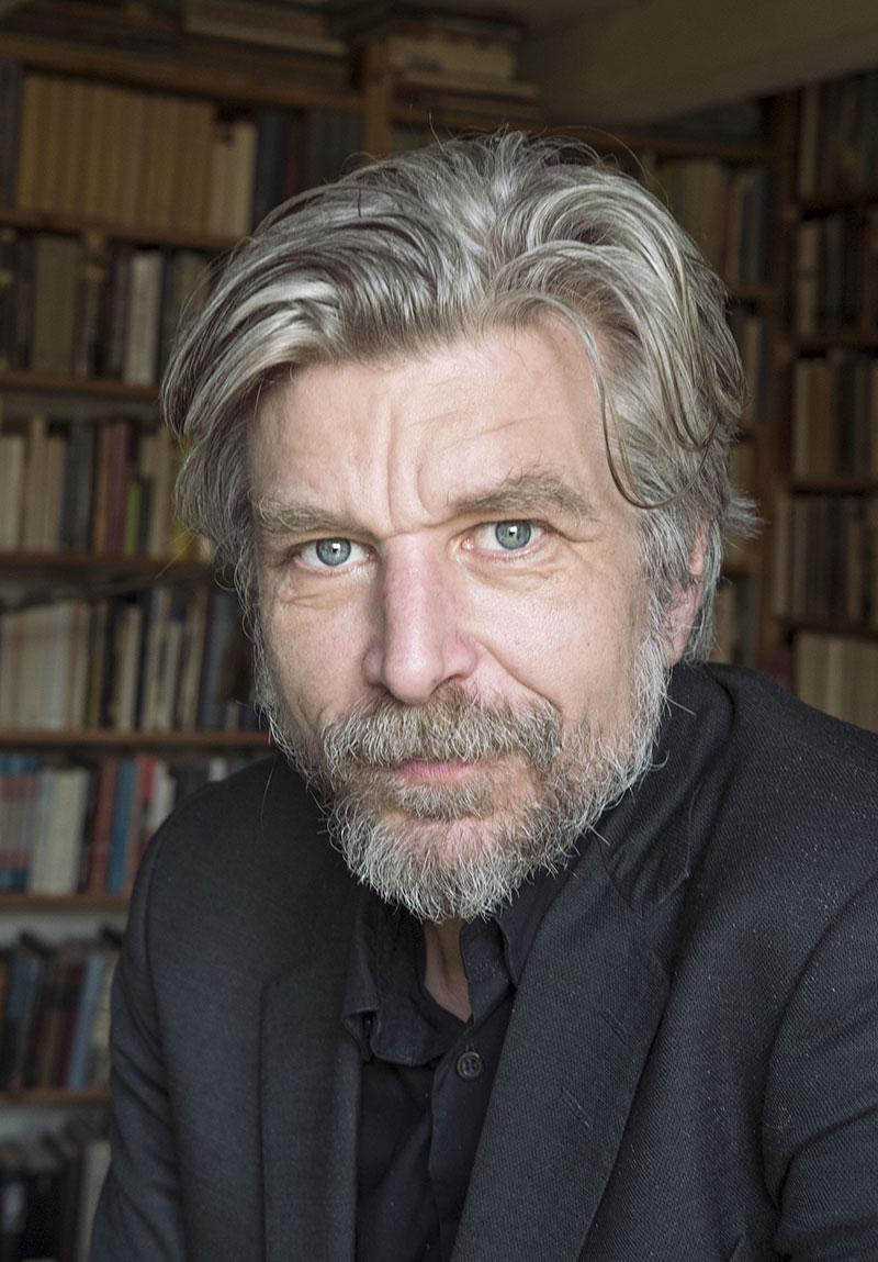 Norwegian author Karl Ove Knausgård