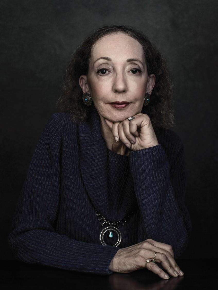 הסופרת האמריקאית ג'ויס קרול אוטס